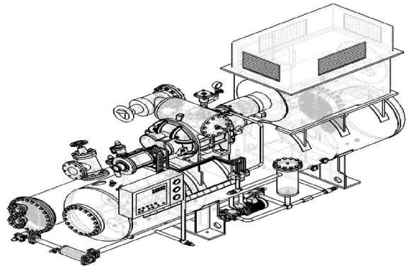 武汉螺杆制冷压缩机结构特征