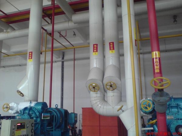 氨制冷螺杆制冷压缩机的油路循环