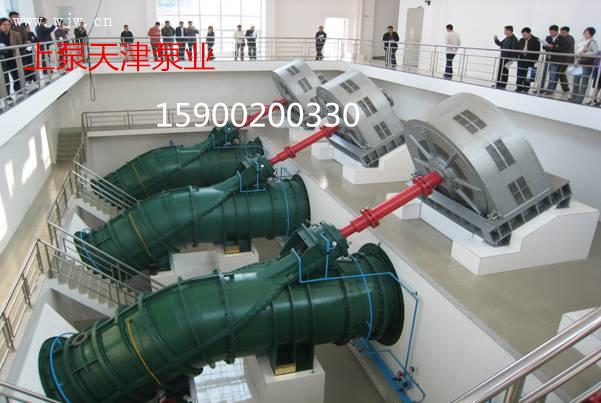 轴流泵按泵轴的工作位置可以分为立轴,横轴和斜轴三种结构形式.